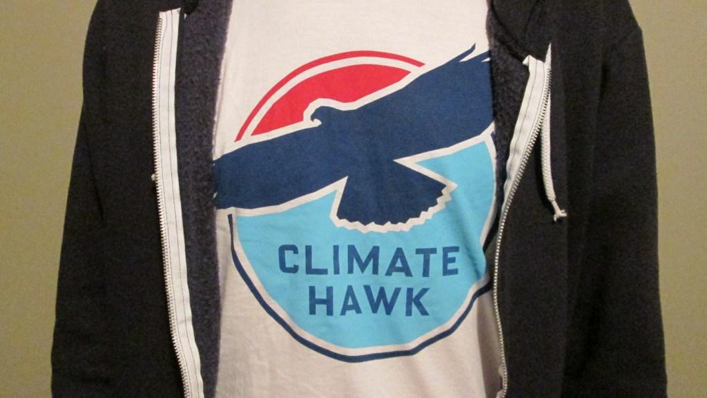 Climate Hawk T-shirt