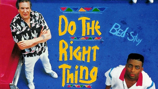 """""""Do the Right Thing"""" poster"""