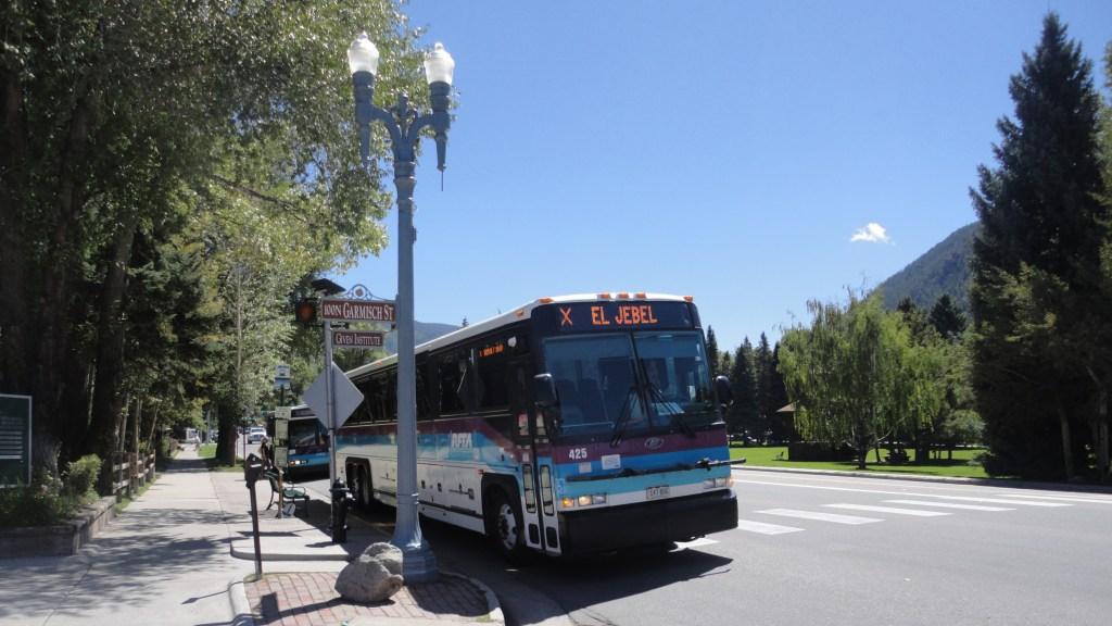 bus in Roaring Fork Valley