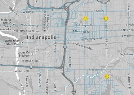 Indianapolis gas leaks