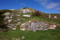 Old cellars are back in use in Elliston, Newfoundland, a.k.a the Root Cellar Capital f the World.