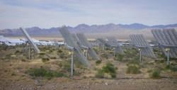 Ivanpah solar panels