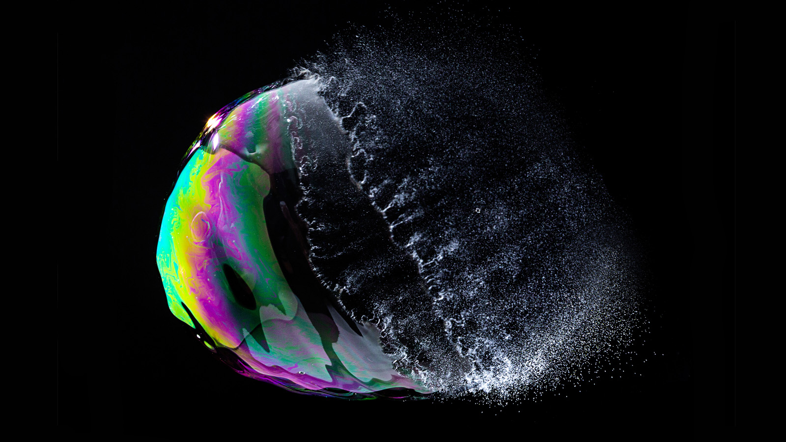 popped bubble