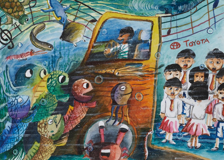 My Dream Car: Underwater Musical Vehicle