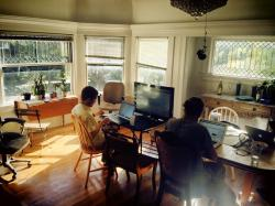 Coliving (and coworking) at the Sandbox in Berkeley.