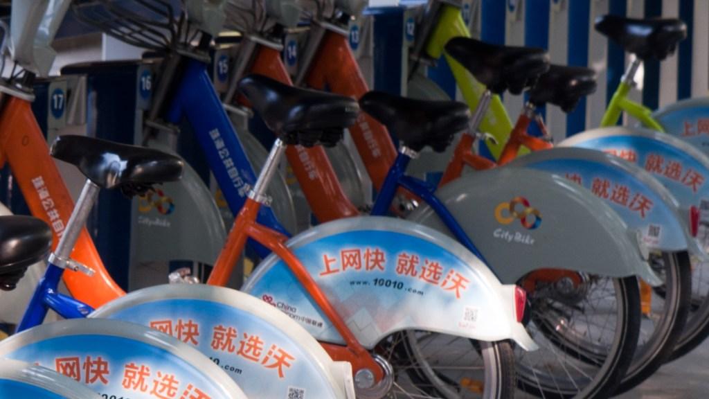 Wuhan and Hangzhou Public Bicycle programs
