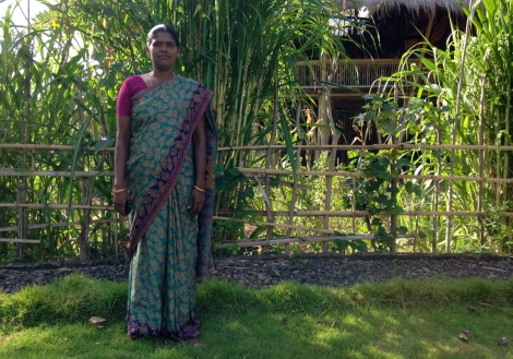 Suryamani Bagat is defending her community's right to control the Jharkhand Forest, which they call home.