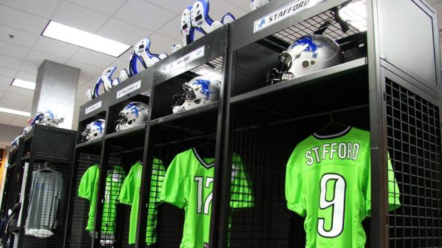Lions recycled jerseys