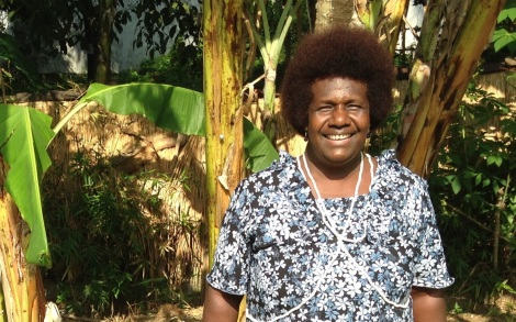 Ursula Rakova is moving her community from the Papua New Guinea island of Tulun, which is disappearing into the ocean, to Bougainville.
