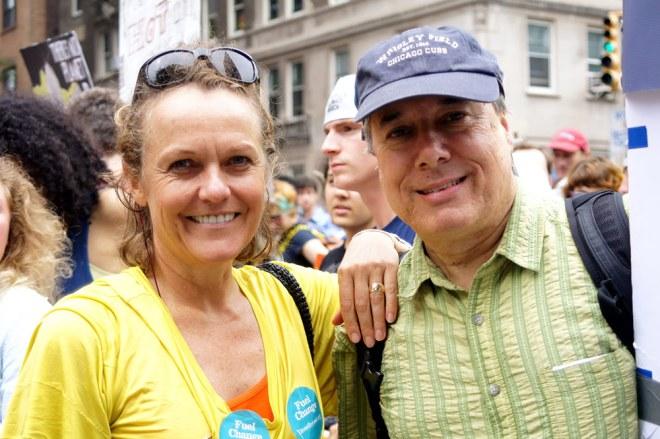Lisa Renstrom and Chuck Collins – Boston, Massachusetts