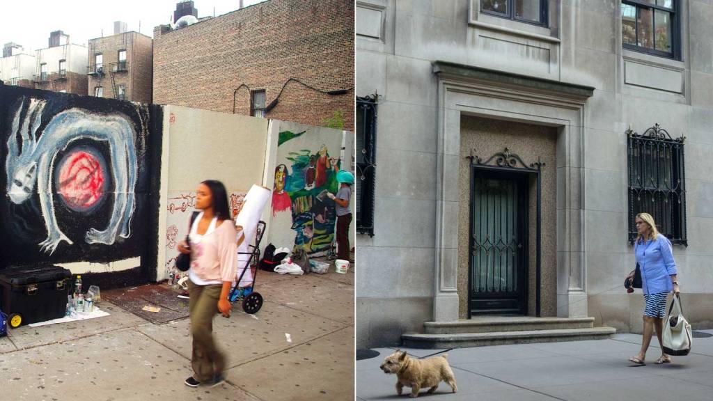 Brooklyn street and Upper East Side street.