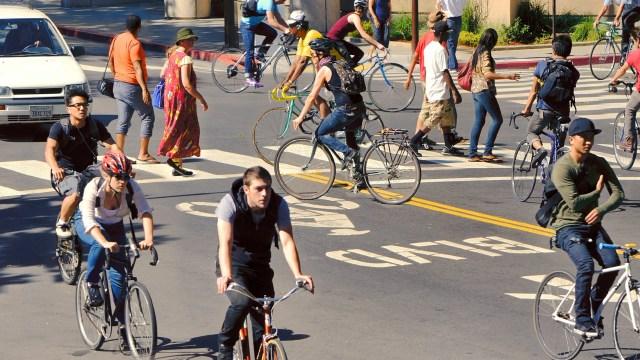 cyclists California