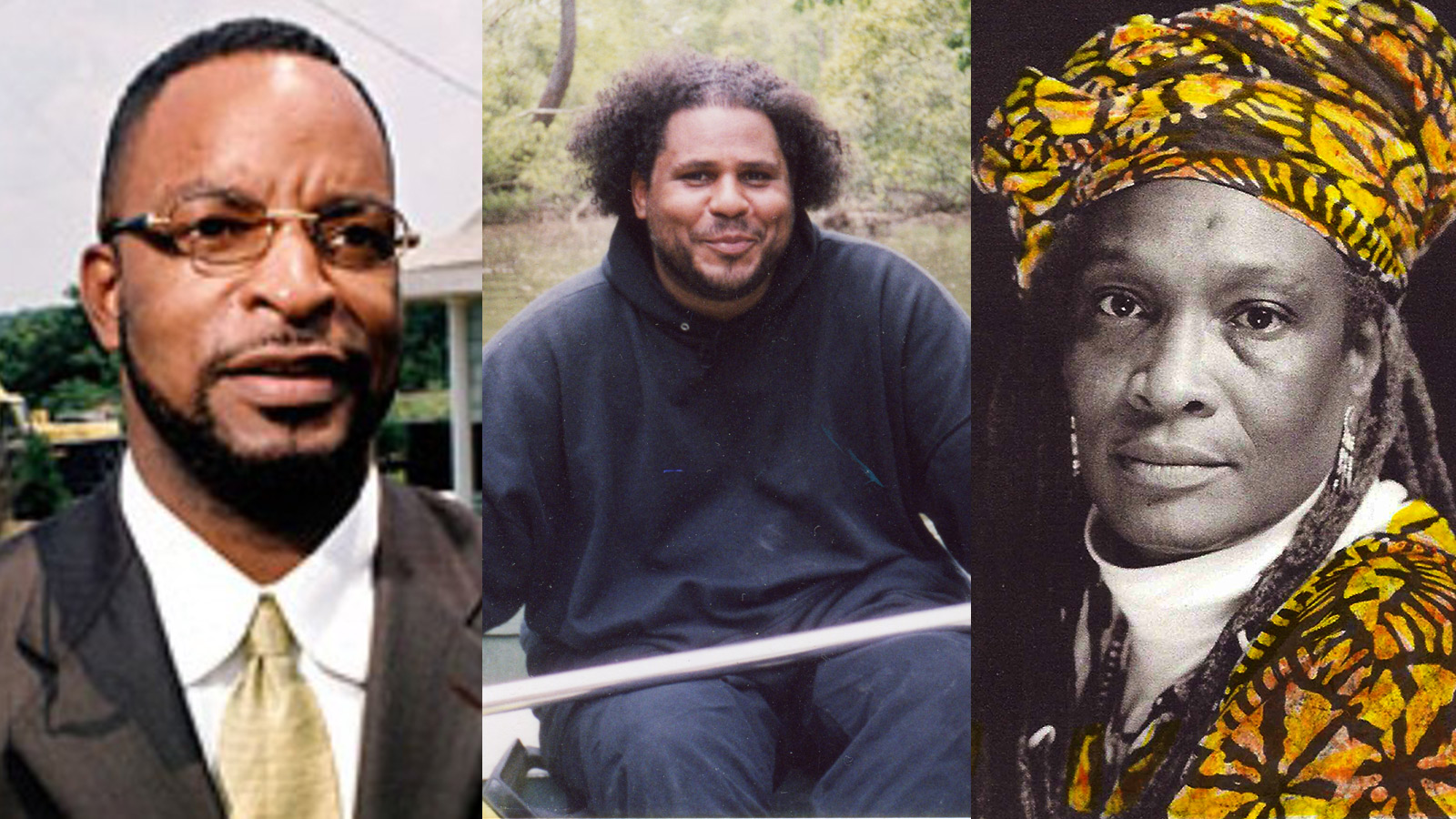 Harold Mitchell, Jr., Derreck Evans, Mildred McClain