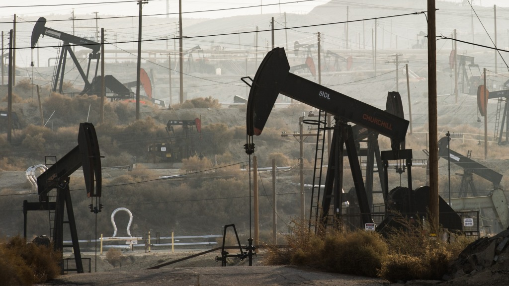 oil field california