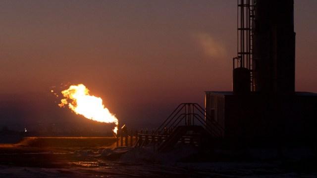 fracking flare