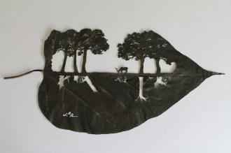 leaf art eco fest