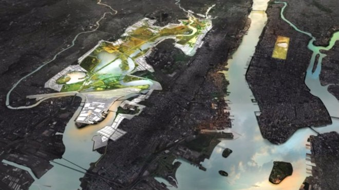 The New Meadowlands project will restore the marshlands between New Jersey and New York.