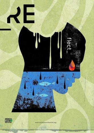 eco fest poster Rafael Lopez