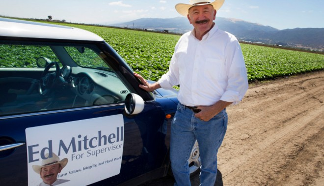 On Nov. 4, Mitchell will find out if he gets elected to the county's Board of Supervisors. He hopes to be an advocate for preventing fracking from harming the valley.