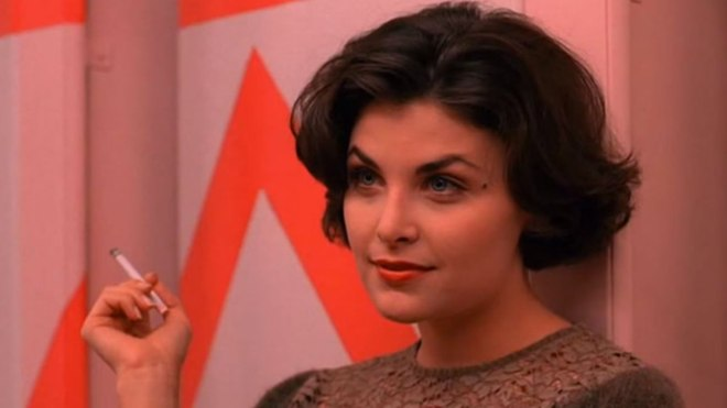 "Audrey Horne of ""Twin Peaks"""
