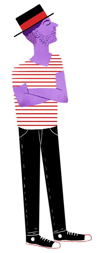 Gondolier costume.