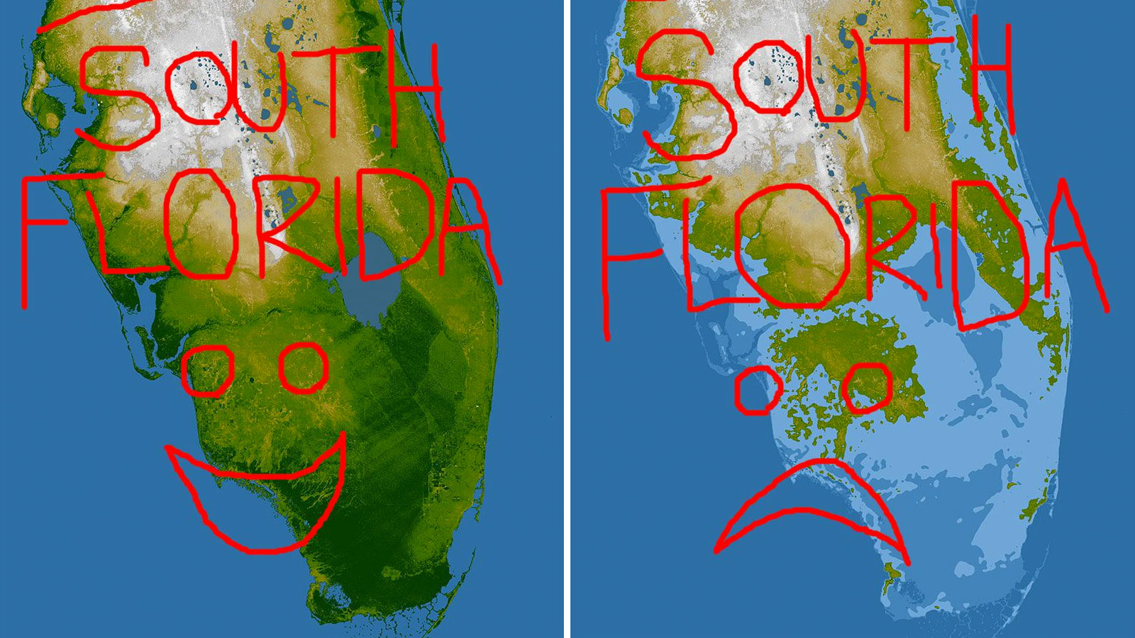 What rising sea levels will do to South Florida.
