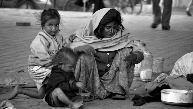 Poverty and hunger India