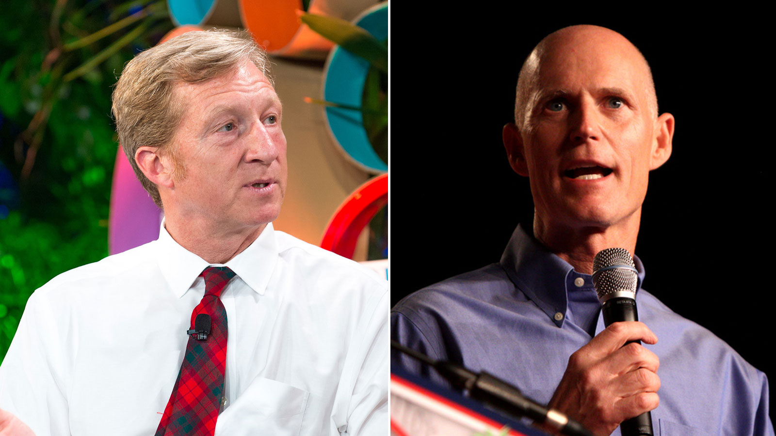 Tom Steyer & Rick Scott