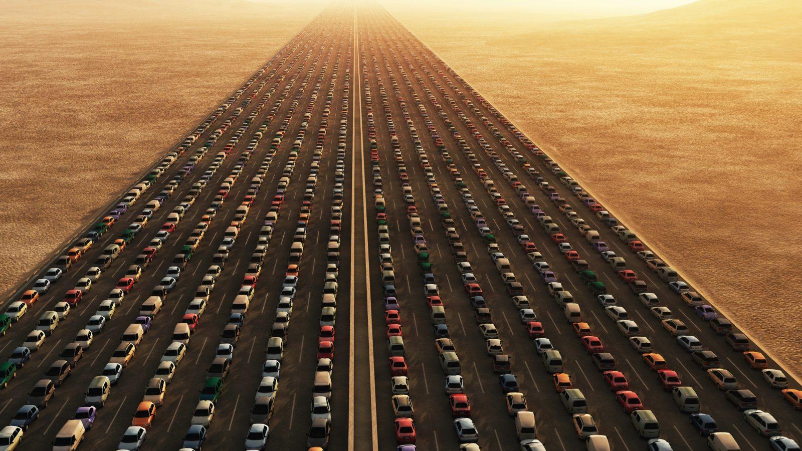traffic freeway