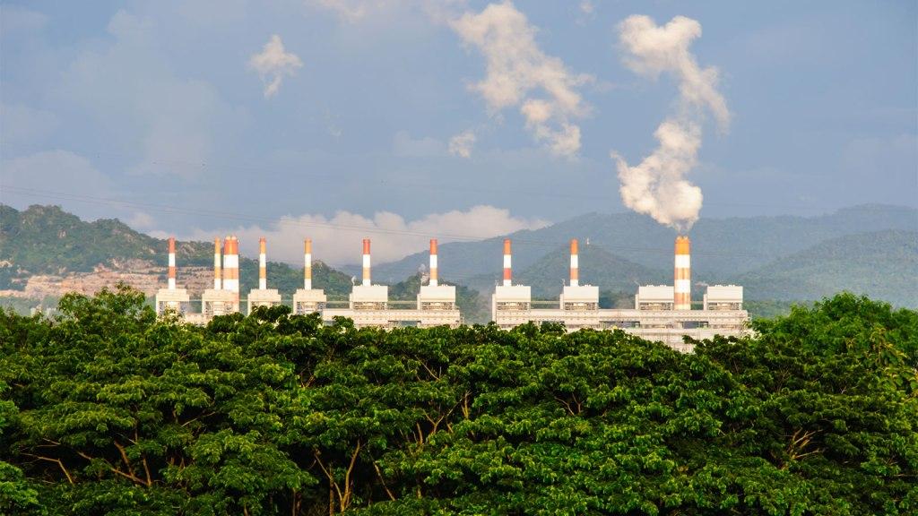 Coal plant in Thailand
