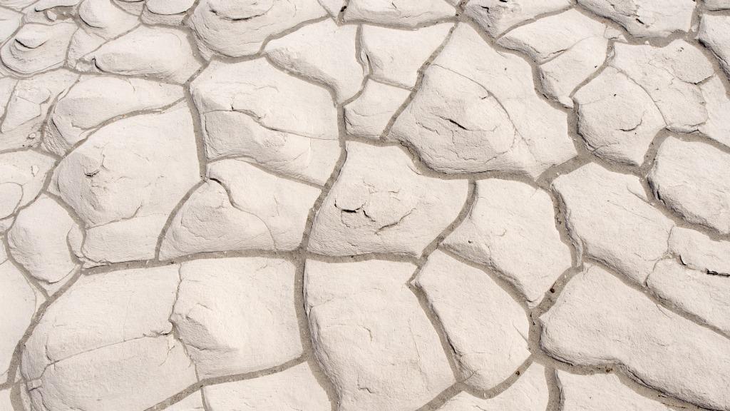 cracked mud desert California