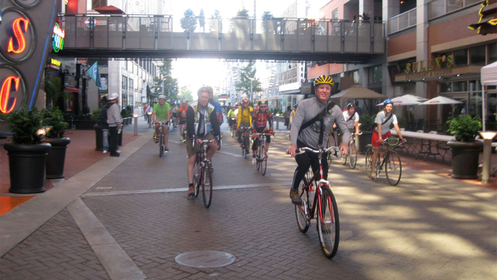 Bikers in Louisville