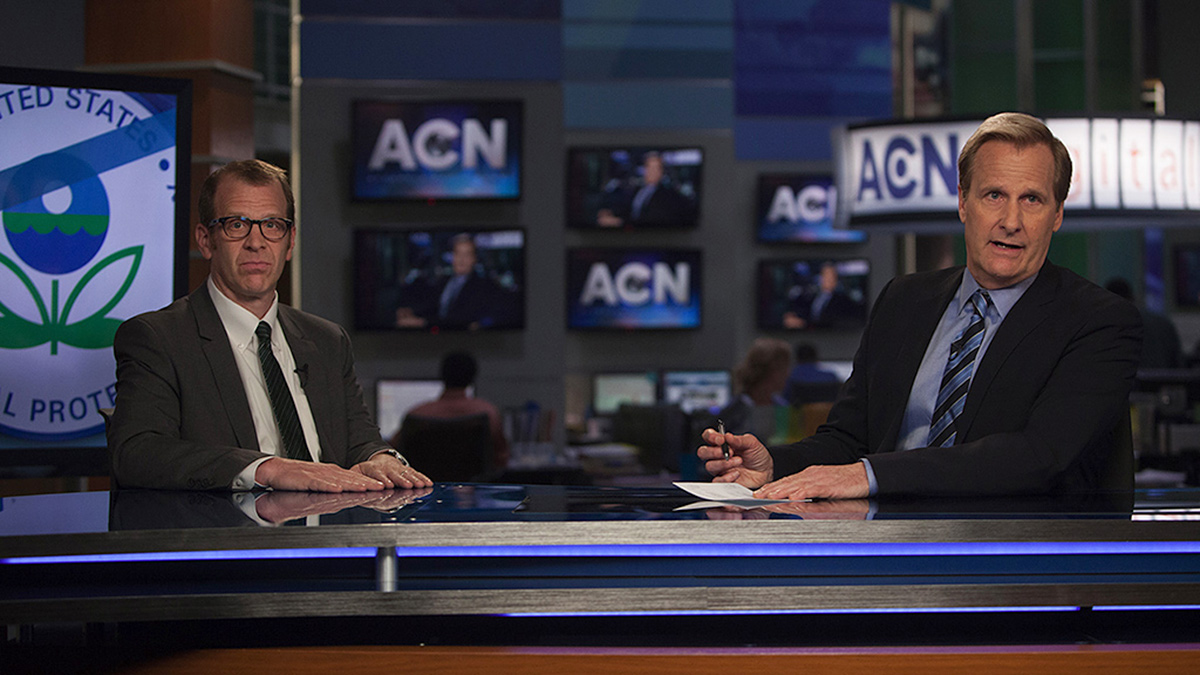 Photo from episode 22 of The Newsroom