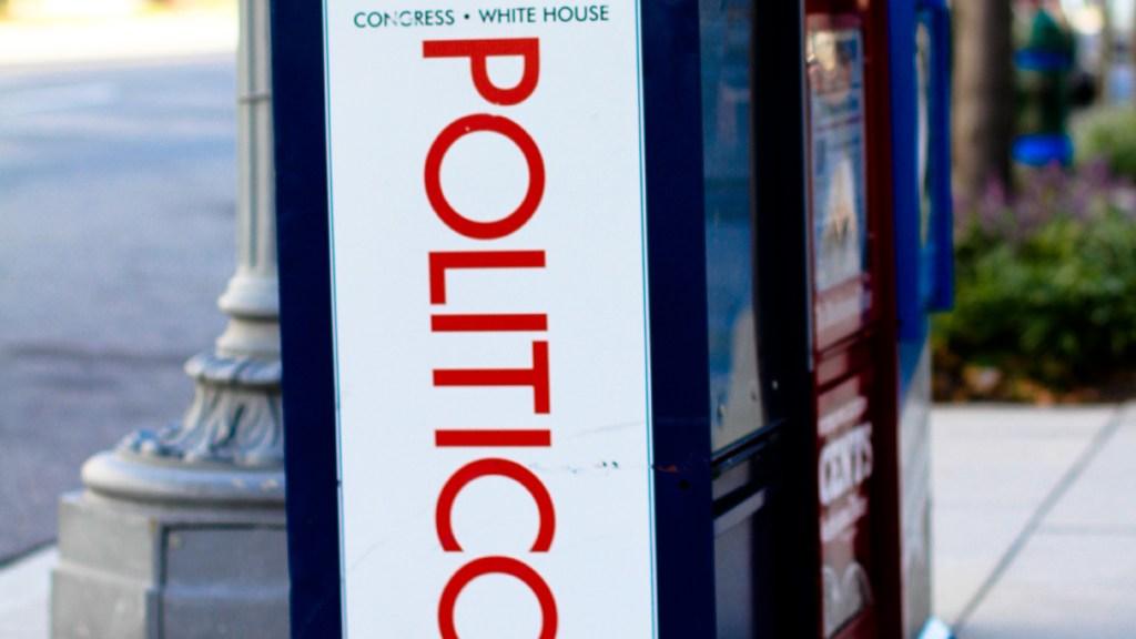 Politico newsstand
