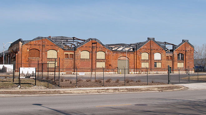 Old Factory in Pullman, Chicago.