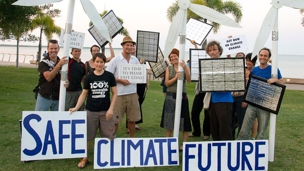 Safe climate future