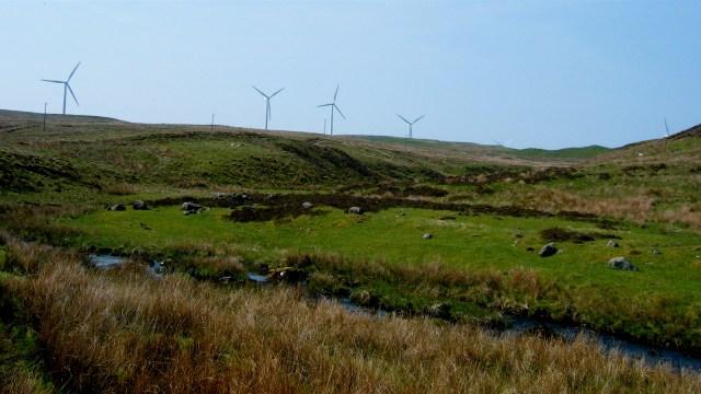 Scotland windmills