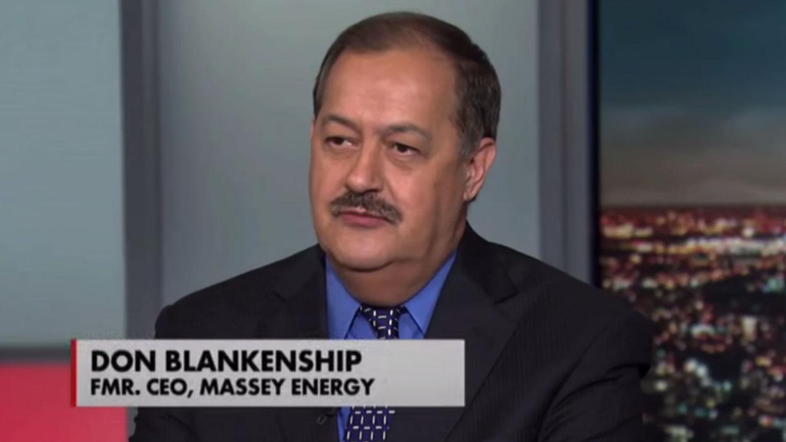 Don Blankenship aka the Dark Lord of Coal