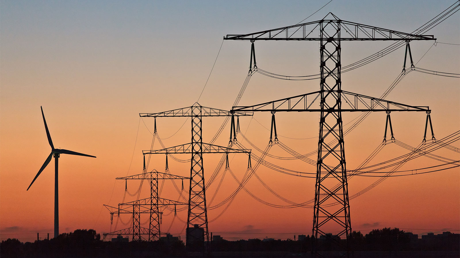 Wind turbines & electrical wires