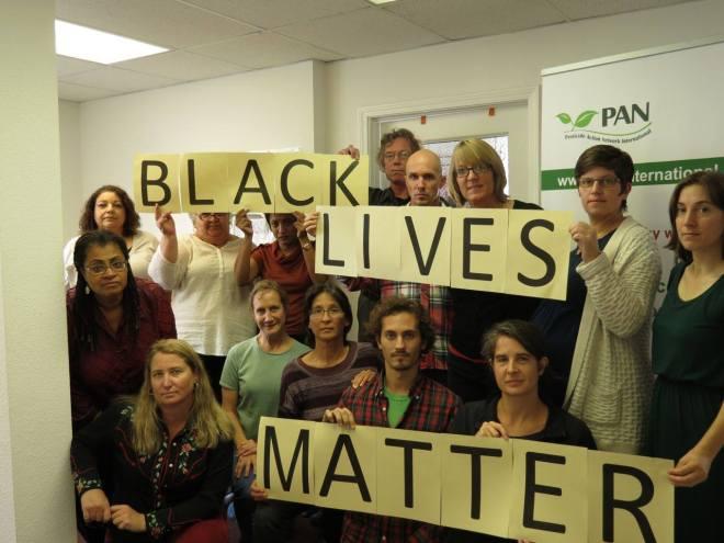 Pesticide Action Network (PAN) staff supports #BlackLivesMatter