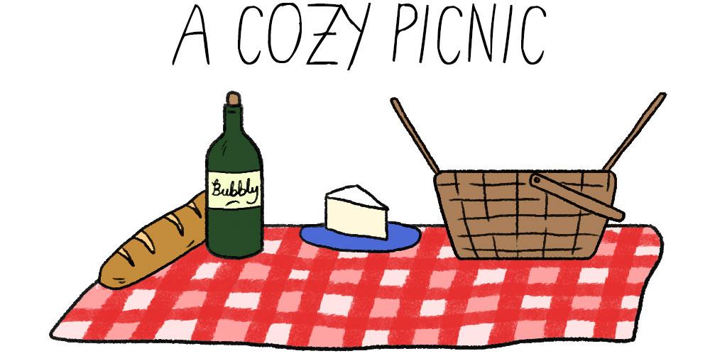 A cozy picnic