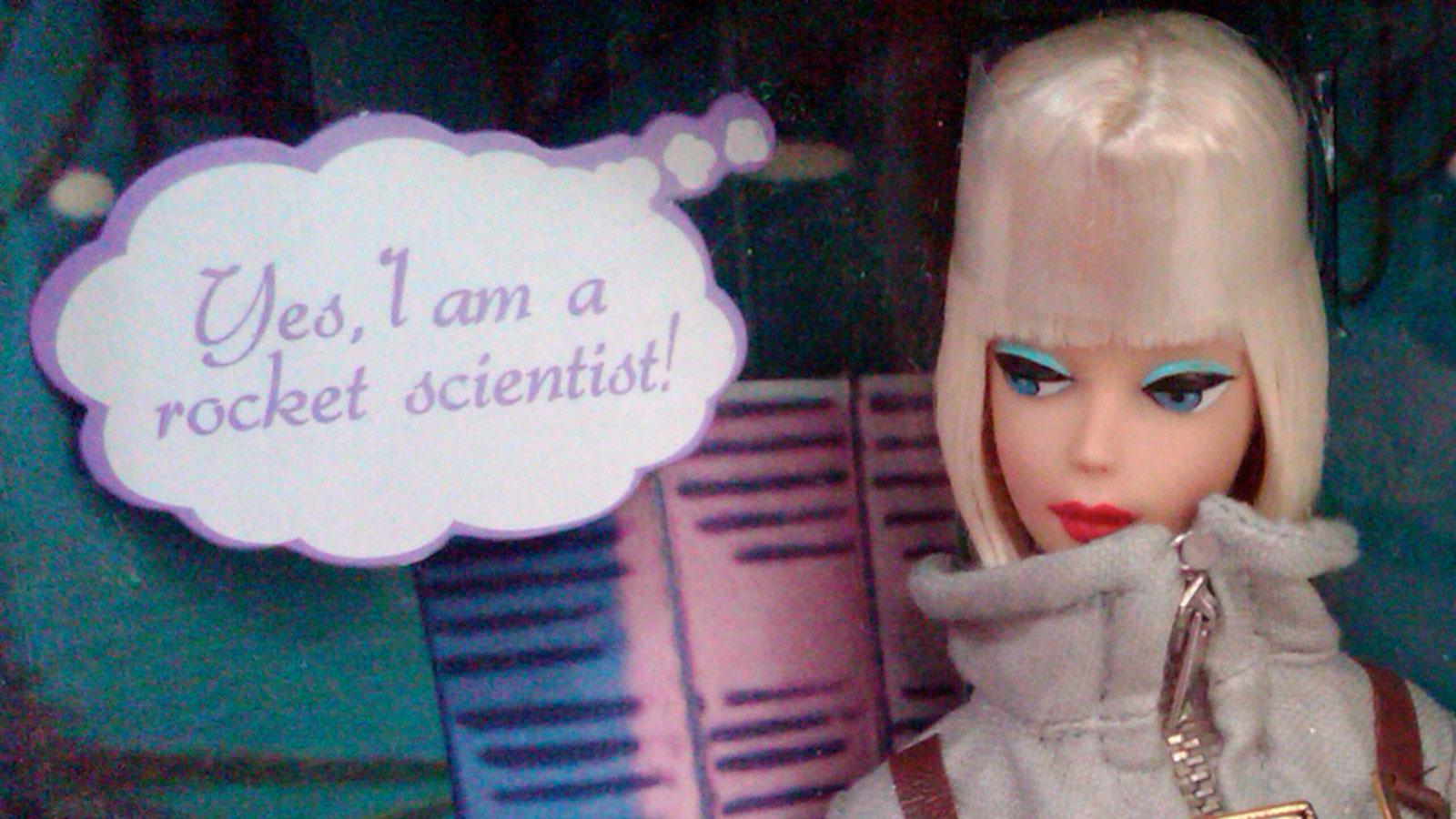 Dr. Barbie (1965), PhD, Certified Rocket Scientist