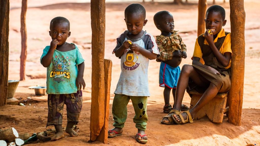 boys in Ghana