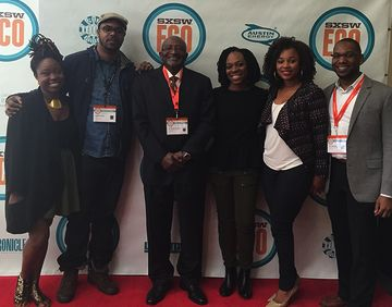 Author Brentin Mock participated in an environmental justice panel at this year's SXSW Eco in Austin, Texas.