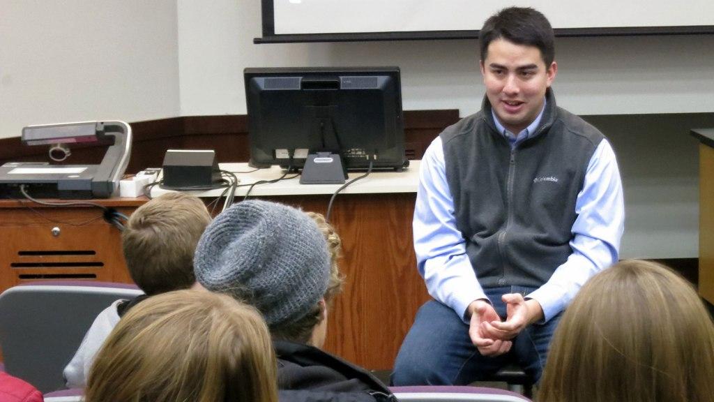 Ben speaking at Cedarville University