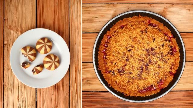 Cookies + pie = delicious