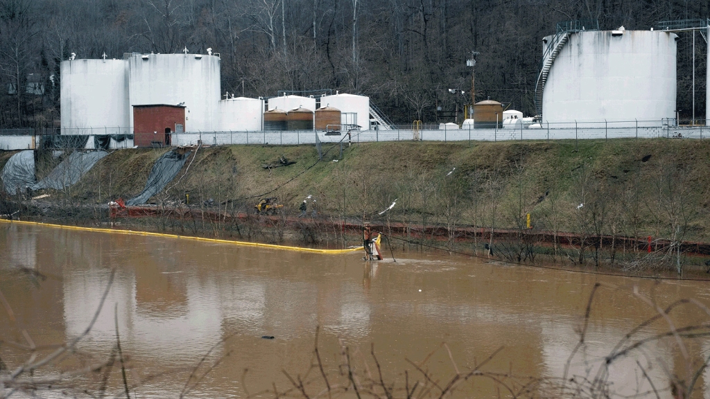 West Virginia chemical spill