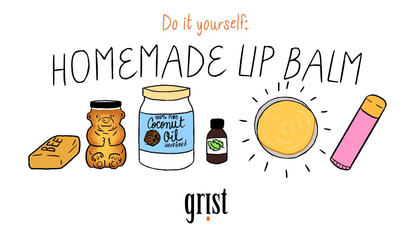 Do it yourself: Homemade lip balm