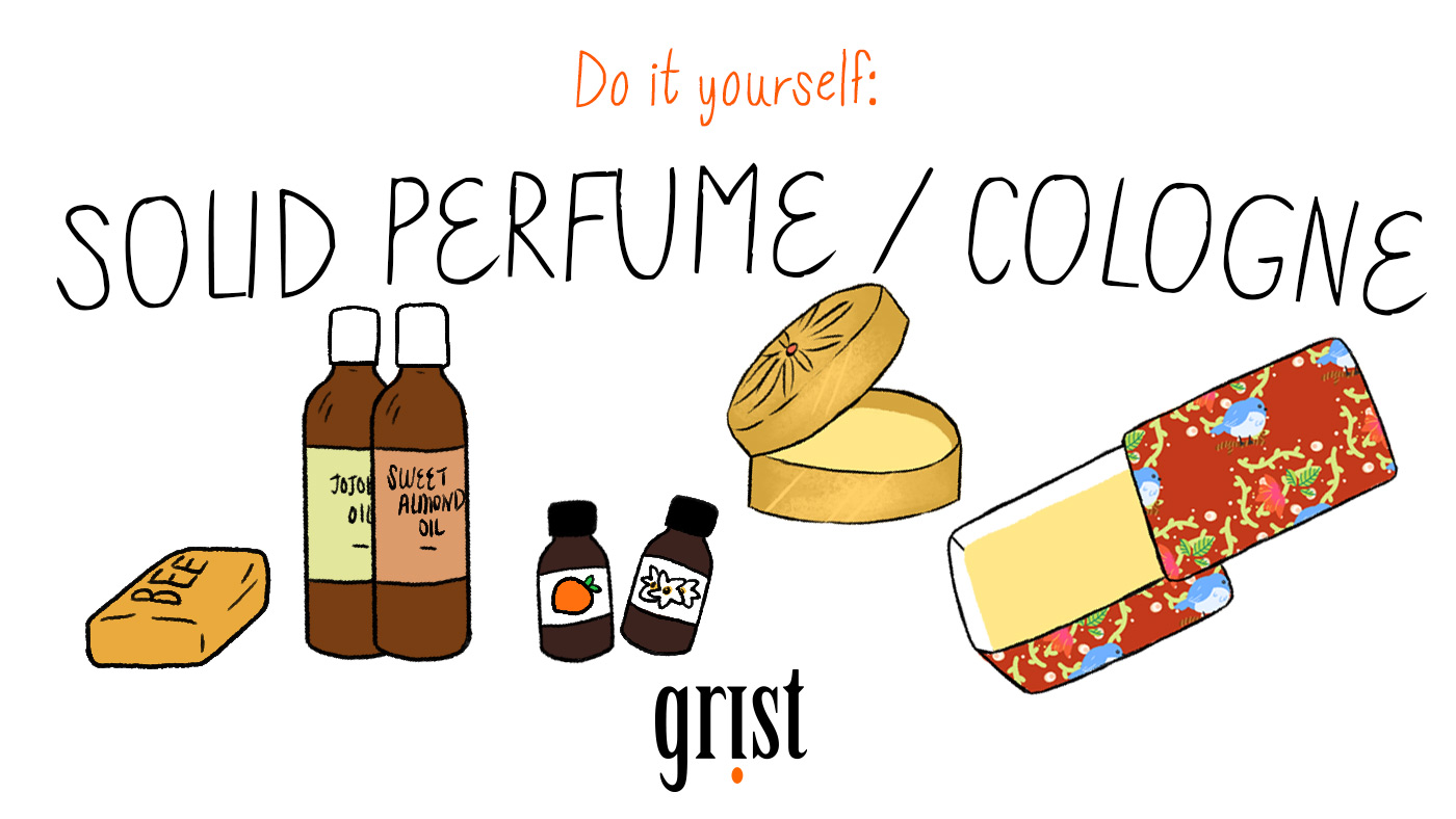 Do it yourself: Solid perfume / Cologne