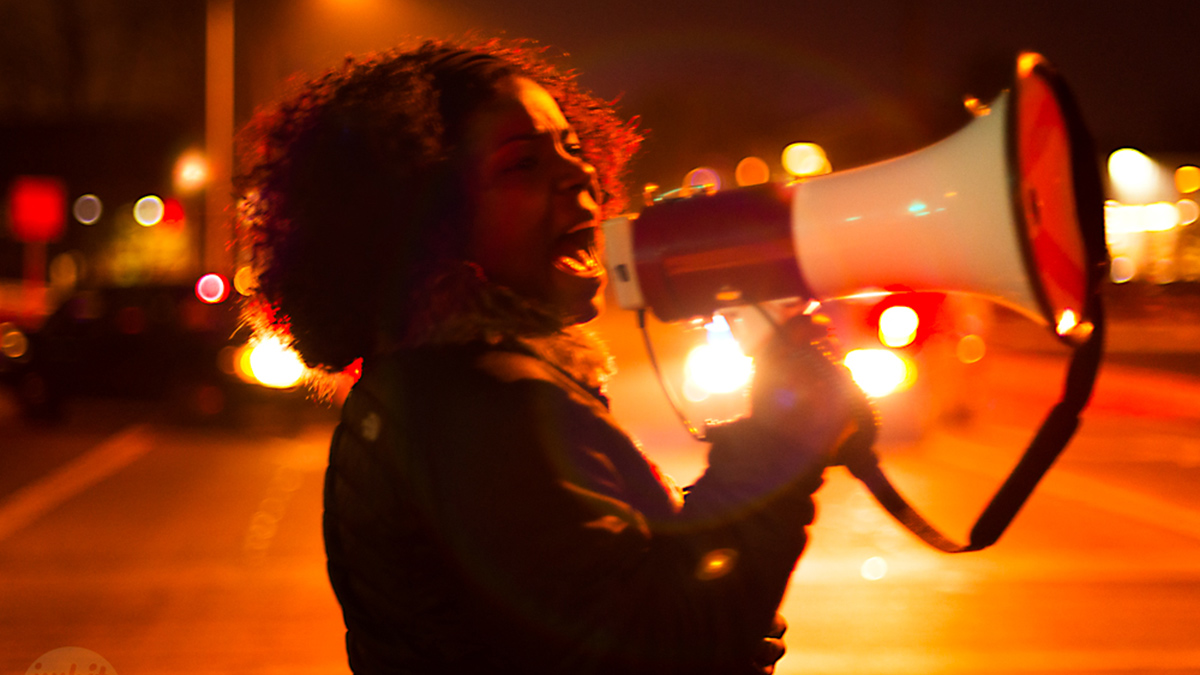 Ferguson to Madison rally